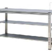 Three Tiers 304 S.S. Work Bench